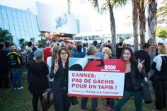 Elise et Malissa défendent un festival de Cannes plus responsable.