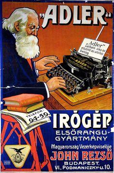 Retro Advertising, Vintage Advertisements, Vintage Ads, Restaurant Pictures, Socialist Realism, Vintage Drawing, Vintage Typewriters, Ad Art, Old Ads