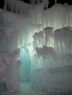 The Ice Castles @ Silverthorne CO