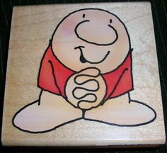 ZIGGY PRETTY PLEASE Stamp GQ005 by Stampendous Tom Wilson Made in USA Brand New #Stampendous #CartoonCharacter