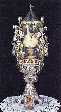 Eucharistic Miracle of Siena, Italy 1730. I saw this in person. It is amazing that these hosts are still intact after 282 years. Only by the grace of God!