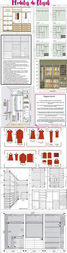 modelos de closet                                                                                                                                                      Mais