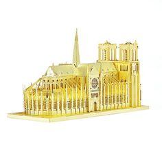 ขายสินค้าราคาพิเศษ อย่าพลาด Notre Dame De Paris 3D Model Kit Metal Nano Puzzle (Intl)  สั่งซื้อออนไลน์ ส่งฟรี  เก็บเงินปลายทาง