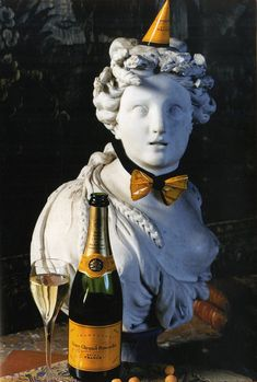 Veuve Cliquot-Fit for a Goddess Veuve Cliquot, Tim Tim, Donna Tartt, Champagne, Auld Lang Syne, The Rocky Horror Picture Show, Old Money, The Secret History, New Year Celebration