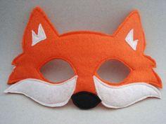 felt fox mask pattern - Google Search