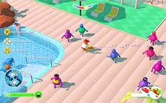 Pool Party Panic PC. Eres un socorrista de una piscina, y tu misión es tener a los bañistas a salvo con esté gran juego de Habilidad y Supervivencia.