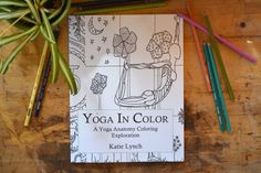 yoga in color a yoga anatomy coloring book yoga coloring book adult coloring book yoga anatomy coloring book coloring book - Yoga Anatomy Coloring Book