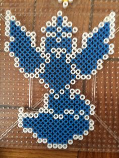 Team Mystic - Poekom Go perler beads by wolfyloveanime