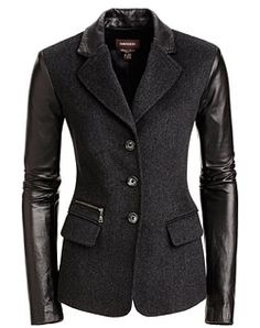 Fantastic classic jacket, wear with anything, from chic to relax! Danier, leather fashion and design.