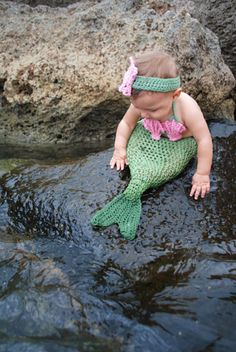 I can imagine Coodley sporting this mermaid costume; after all her mother is a mermaid.