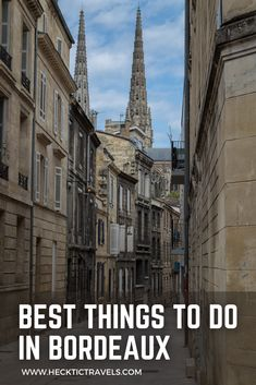 Bordeaux is world famous for its high quality wine; however, the city also offers lots of fun stuff to do! Fun Stuff, Stuff To Do, Things To Do, Good Things, Visit France, World Famous, Bordeaux, Wine, Travel