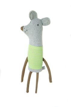 Plush soft toy mouse   Finkelstein's Center Handmade by finkelsteins