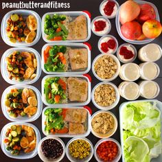 PEANUT BUTTER AND FITNESS: Meal Prep Mondays - One Week Prep