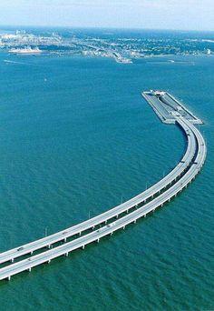 The Chesapeake Bay Bridge-Tunnel is an 'engineering wonder' - Business Insider
