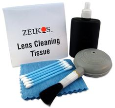 Zeikos ZE-CL5  5 Piece Deluxe cleaning kit for digital cameras, video cameras, Gps, binoculars