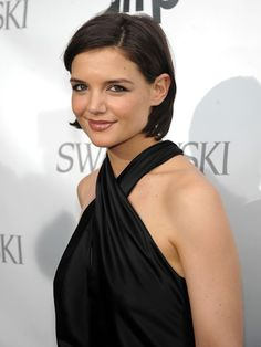 Katie Holmes ~ Katie created quite the stir when she chopped off her long locks, but the new look earned her instant approval in the fashion world. ~
