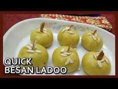 Quick Besan Ke Ladoo in Microwave | Besan Ladoo Microwave Recipe by Healthy Kadai\nhttps://youtube.com/watch?v=5pHN-a9KuZc