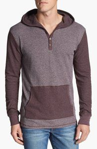 Threads for Thought Thermal Hooded Henley | Hukkster