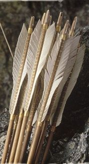 Lotr Arrows, Weta..Luv the natural look of these~