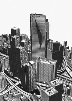 Built Environment, Freelance Illustrator, Detailed Image, Willis Tower, Tokyo, How To Draw Hands, Architecture, Illustration, Artist
