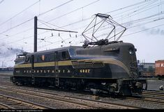 RailPictures.Net Photo: PRR 4827 Pennsylvania Railroad GG-1 at South Amboy, New Jersey by Bob Krone
