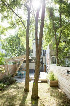 Pergola Patio, Backyard Landscaping, Backyard Ideas, Patio Ideas, Big Backyard, Wooden Pergola, Pergola Plans, Landscaping Ideas, City Apartment