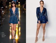 Jennifer Lopez In Elie Saab – 'American Idol' Season 14 Top 10 Revealed