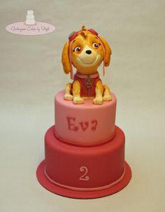 Skye!! Paw Patrol - Cake by Centerpiece Cakes By Steph