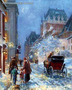 Lise Auger (1945, Canadian)--Winter Celebration