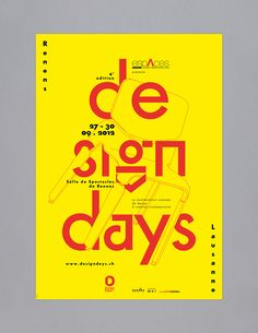 This poster presents a typographic composition mixed with a chair that embodies design furniture. The text, placed in a tabulated and impacting fashion, offers a great visibility to the picture. The different elements of the poster are complimenting each …