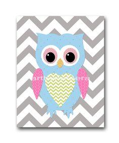 Owl Decor Owl Nursery Baby Girl Nursery decor