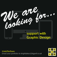⭐ Are you a GRAPHIC DESIGNER looking for new challenges? ⭐  We're looking for support with some upcoming Graphic Design projects at Big Yellow! So, if you think your design style would be a good fit for our range of clients, please email your portfolio or website to brightideas@bigyell.co.uk  #JoinTheTeam #support #freelance #GraphicDesigner #graphics #design #BigYellow #marketing #Cirencester #Gloucestershire