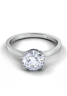 Classico Diamond Crown by Danhov // More from Danhov: http://www.theknot.com/gallery/wedding-rings/Danhov