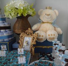 Fabiane Fornaroli: Chá de bebê príncipe urso