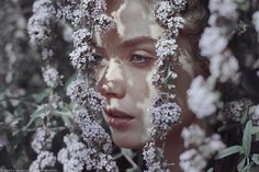 Serene Beauty - Photographer Marta Bevacqua captured the serene beauty of young females in this elegant and highly feminine photography series. Each woman is place...