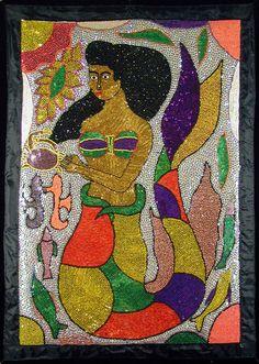 """""""La Sirene"""" banner by George Valris"""