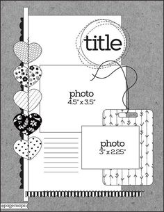 My project for today is a layout that I created with the Noel Mignon kit club February kit: This kit is a mix of product from Simple. Scrapbook Layout Sketches, Scrapbook Templates, Scrapbook Designs, Card Sketches, Scrapbooking Layouts, Psd Templates, Digital Scrapbooking, Scrapbook Bebe, Disney Scrapbook