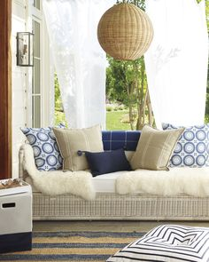 Blending indoor & outdoor living. Transition your outdoor space for Fall…