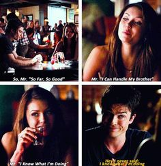 OH GOD I MISS THESE ADORABLE IDIOTS!  #TVD #Delena