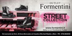 Formentini STREET COLLECTION!!!! Vi aspettiamo con la nuovissima collezione arrivata nel nostro OUTLET a Casette D'ete!! www.formentini.it