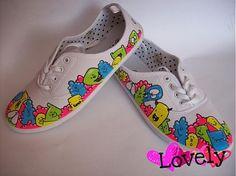 Závan jari ~nové~ by LOVELYart - SAShE.sk - Handmade Obuv Keds, Sneakers, Handmade, Shoes, Fashion, Tennis Sneakers, Hand Made, Sneaker, Zapatos