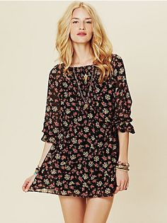 FP Court Me With Flowers Tunic