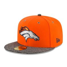 Denver Broncos New Era On Stage 59FIFTY Fitted Hat - Orange bafaa5ae4