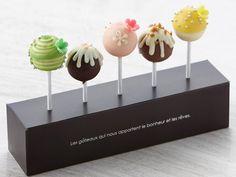 """lollipop chocolate"" in  ""Palace Hotel Tokyo"" / 「パレスホテル東京」のホワイトデー限定スイーツ「ロリポップ チョコレート」"