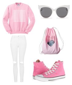 """""""1-800-HOTLINEBLING"""" by madddgalriri ❤ liked on Polyvore featuring Topshop, UGG Australia and Blanc & Eclare"""