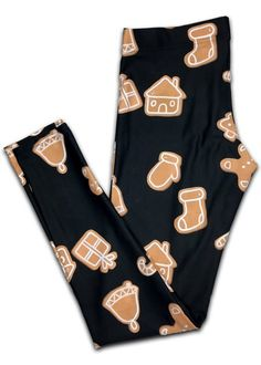 Ginger Bread Extra Soft Leggings.  WITH EVERY PURCHASE, YOU HELP PROVIDE BRAND NEW CLOTHING TO THE HOMELESS AND TO THOSE IN NEED.