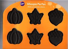 Fall Whoopie Pie Pan 12 Cavities By Wilton (Pumpkins, Leaves, Acorns) *** Find out more details @ : Baking pans Whoopie Pie Pan, Candy Molds, Cavities, Baking Pans, Acorn, New Product, Baking Recipes, Pumpkins, Cookies