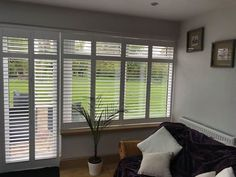 We do love conservatory plantation shutters , fitted for our client these are shutters in pure white with mid rails and hidden tilt rods. The free. Living Products, Pure Products, Folding Doors, Pure White, Conservatory, Tilt, Shutters, Easy Access, Make It Simple