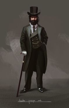 Victorian Gentleman , Mateusz Michalski on ArtStation at https://www.artstation.com/artwork/wPma5