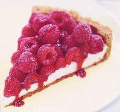 """Raspberry sour cream tart from Epicurious & Bon Appetit - Eat Your Books is an indexing website that helps you find & organize your recipes. Click the """"View Complete Recipe"""" link for the original recipe."""